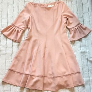 Eliza J Blush Pink Dress sz 14